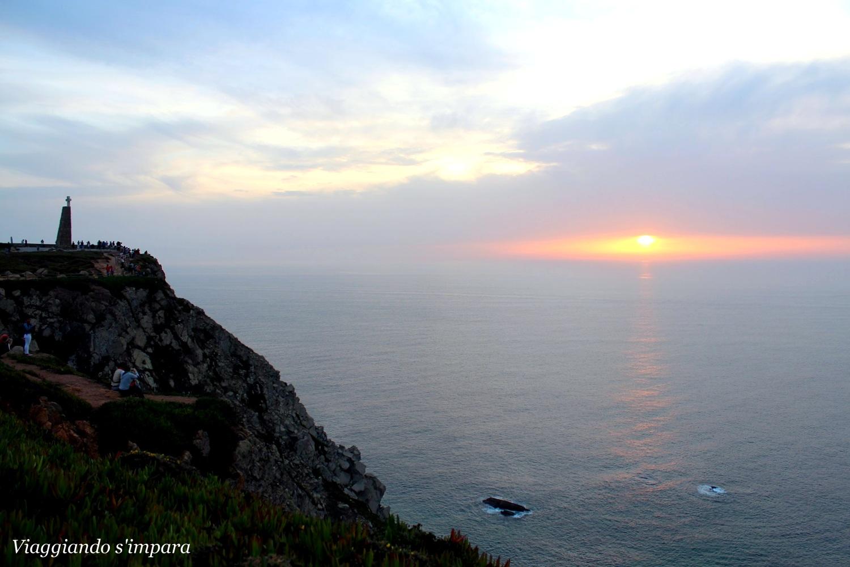 tramonto a Cabo da Roca