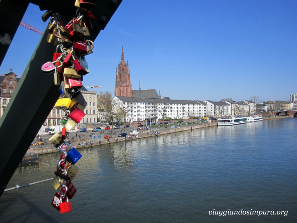 Eiserner Steg e Duomo di Francoforte