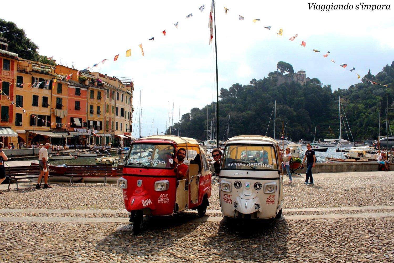 Api-Calessino a Portofino